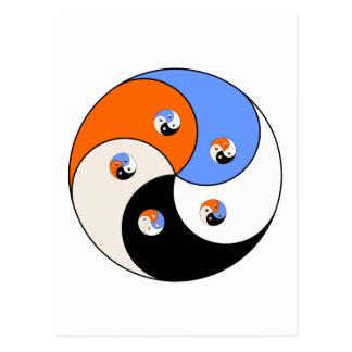 Yin Yang Yong Carte Postale