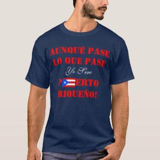Yo Puerto sec Riqueño, T-shirt portoricain de