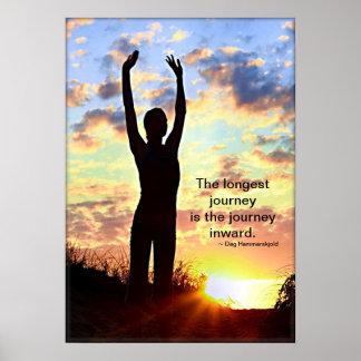 Yoga de lever de soleil - le plus long voyage