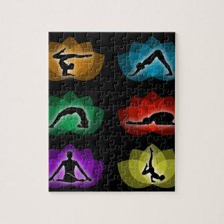 yoga en meditatie puzzel