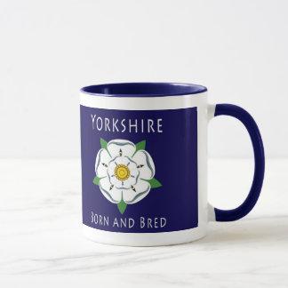 Yorkshire soutenu et a multiplié la tasse