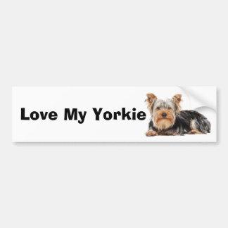 Yorkshire Terrier Bumpersticker