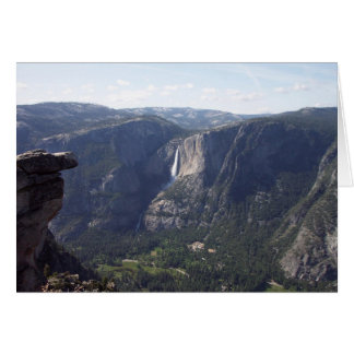 Yosemite au printemps :  Vue de point de glacier Carte