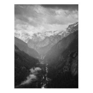 Yosemite Carte Postale