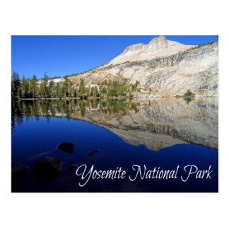 Yosemite, carte postale de Mt Hoffmann la