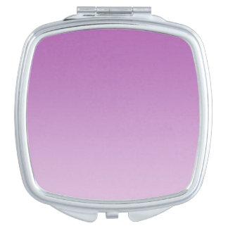 Zachte Paarse Ombre Makeup Spiegeltjes