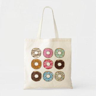 Zak van het de snoepjes yummy kleurrijke bolsa van draagtas