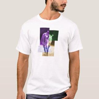 Zèbre d'arc-en-ciel t-shirt