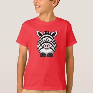 Zèbre de bande dessinée - T-shirt d'enfants
