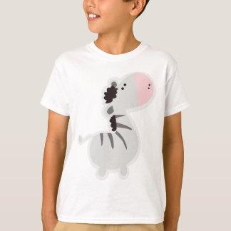 Zèbre de bébé t-shirt