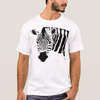 Zèbre mauvais t-shirt