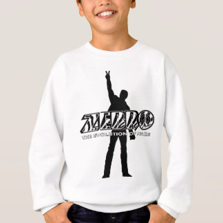 Zebro l'évolution de la paix sweatshirt
