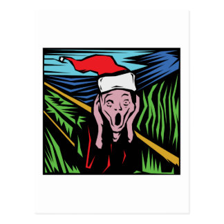 Zeer Grappige Kerstmis Briefkaart