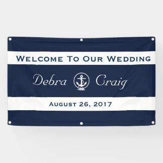 Zeevaart Banner 3 ' x 5 ' van het Huwelijk