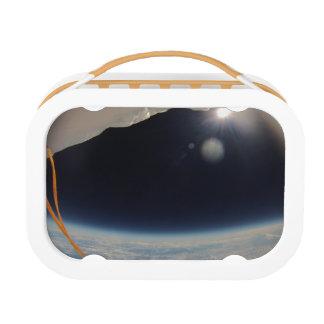 Zelfs eten de ruimtemensen! lunchbox