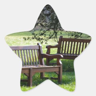zen garden sticker étoile