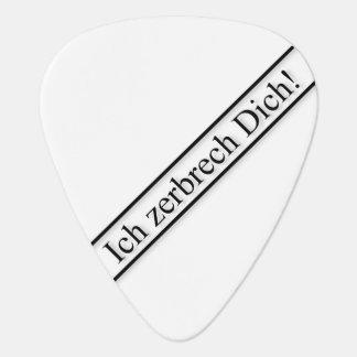 Zerbrecher-Plek Onglet De Guitare