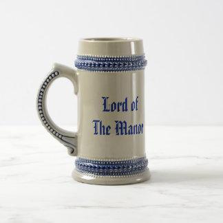 Zijn Lord van Lord van de Middeleeuwse Stenen Bierpul