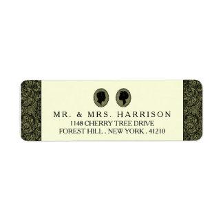 Zijn & van haar het Collectie van het Huwelijk van Etiket