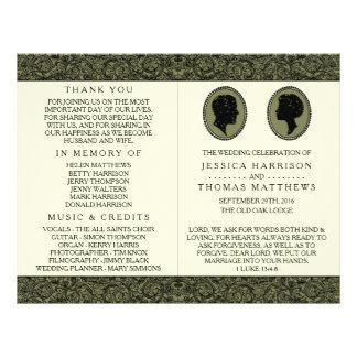 Zijn & van haar het Collectie van het Huwelijk van Flyer 21,6 X 27,9 Cm