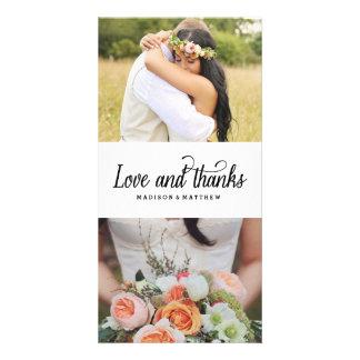 Zo Veel Liefde | Huwelijk dankt u de Kaart van de