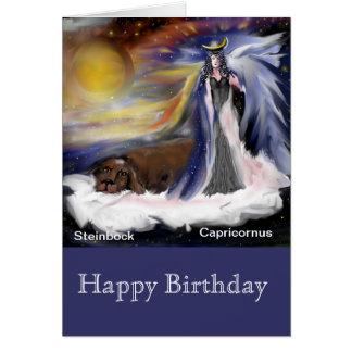 Zodiac. Capricorne capricornus, carte