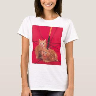 Zoete liitle rode katten t shirt