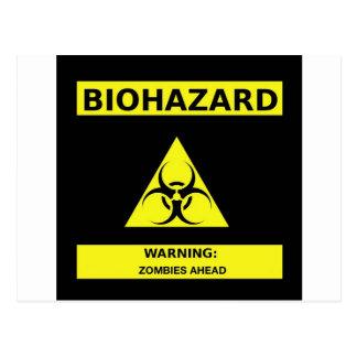 Zombi de Biohazard Cartes Postales