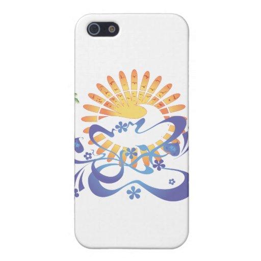 Zon & Branding!  Vector Kunst: iPhone 5 Hoesjes