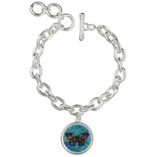 Zone de papillon bracelets avec breloques