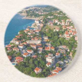 Zonguldak, antenne, côte de la Mer Noire de la Dessous De Verre En Grès