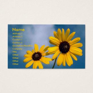 Zonnebloemen Visitekaartjes