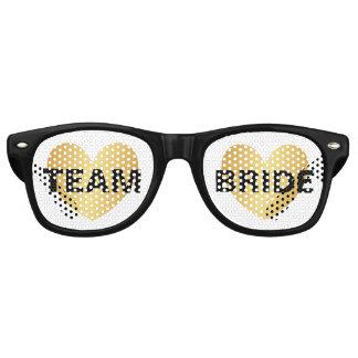 Zonnebril - de Gouden Zwarte van de Bruid van het