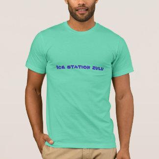 Zoulou de station de glace t-shirt