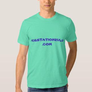 Zoulou de station de glace tee-shirts
