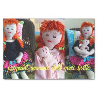 Zwanger Doll Mommie Tissuepapier
