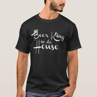 Zwart shirt - Beer King in da House