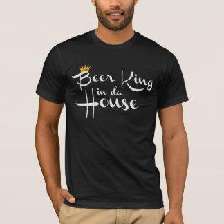 Zwart t-shirt - Beer King in da House