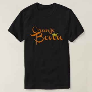 Zwart T-shirt - Oranje Boven