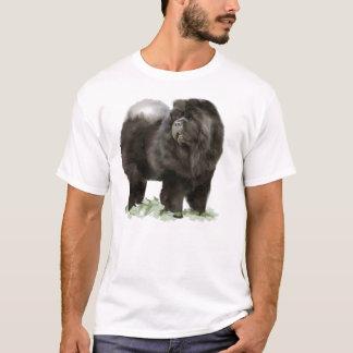zwart voer t shirt