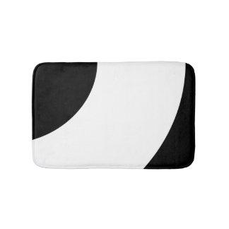 Zwart-wit Badmat