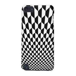 Zwart-wit Hoesje Ipod