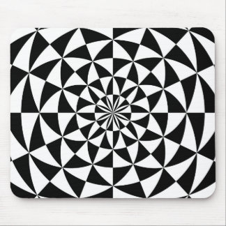Zwart & Wit - Ontwerp Mousepad Muismat