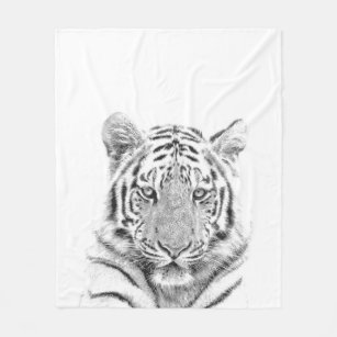 Fleece Deken Tijger.Witte Tijger Dekens Zazzle Be