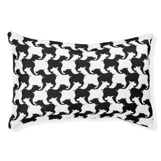 Zwarte en uw Bed van de Hond S van het Hondenbedden