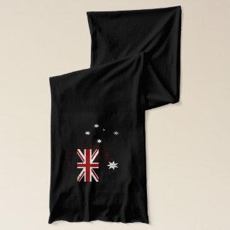 Zwarte Vlag 2 van Grunge Australië Sjaal