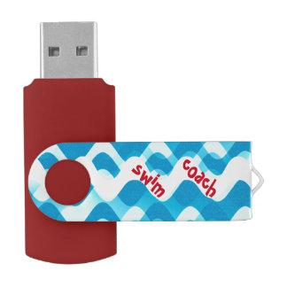 Zwem de Sporten van de Aandrijving van de Flits Swivel USB 2.0 Stick