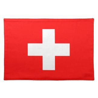 Zwitserland - Zwitserse Vlag Placemats